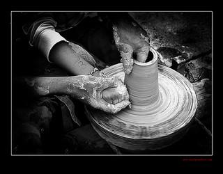 wolfgangfoto potters wheel